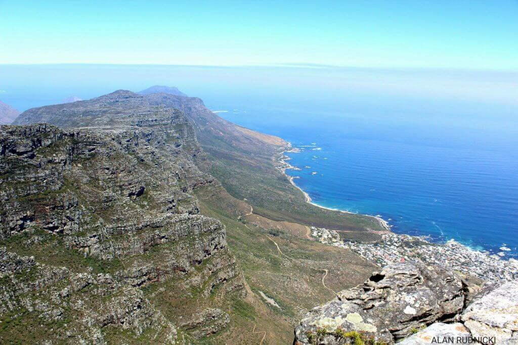 An Awesome view towards the South West with a bit of Camps Bay on the right.