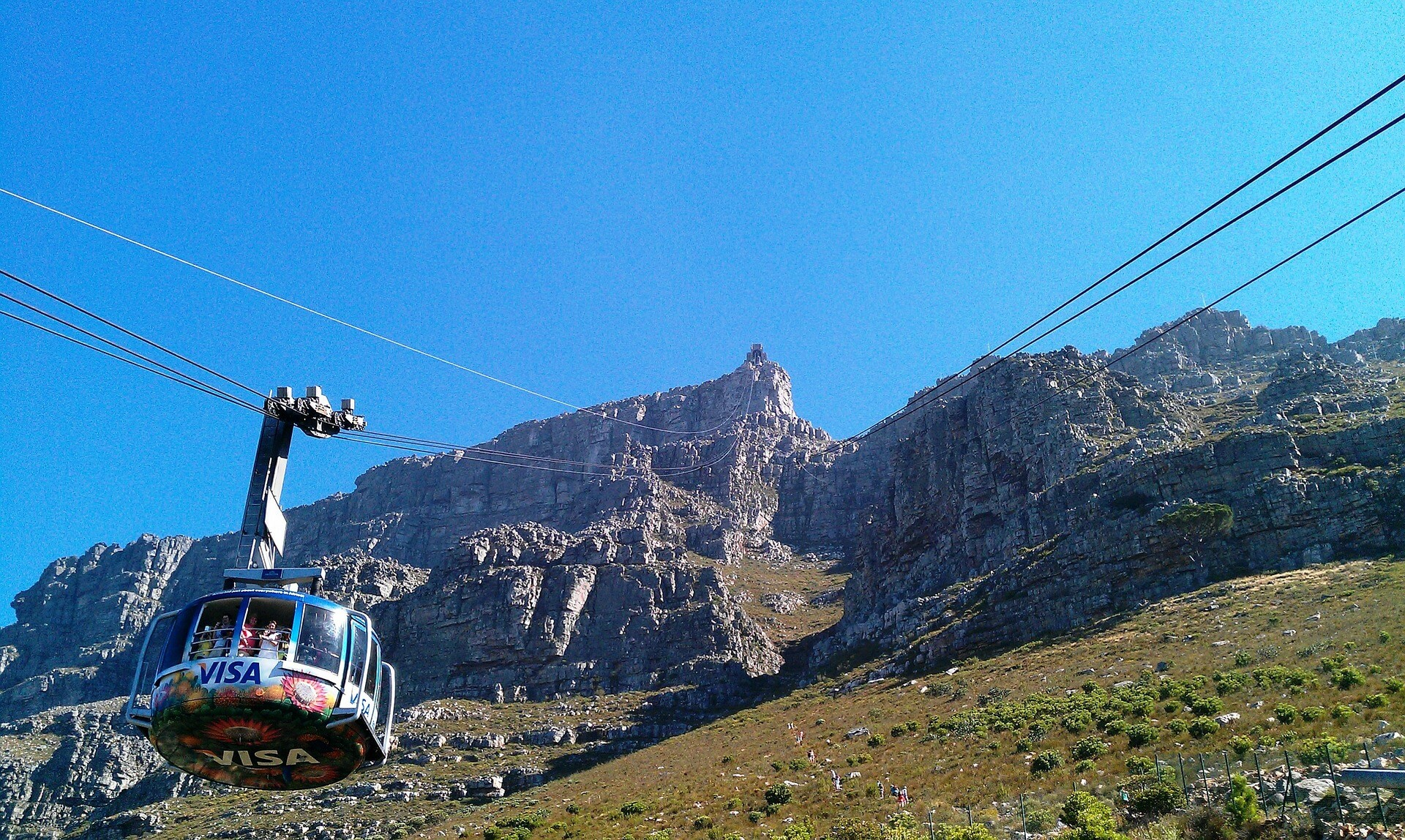 Taking the Cable Car up Table Mountain is an awesome day out!