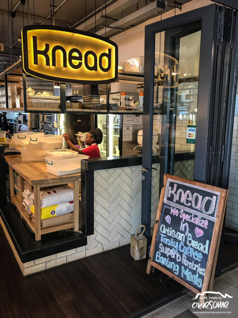 Entrance to the Knead Bakery Plattekloof