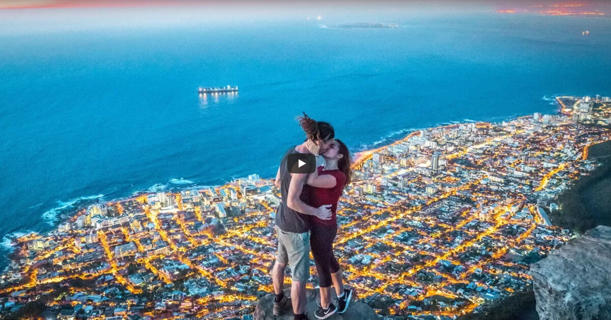 (watch) How a Travel Vlogger Spends His Day In Cape Town