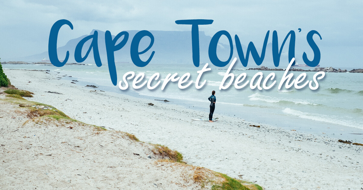 10+ Awesome Hidden Beaches In Cape Town You Might Not Know Of