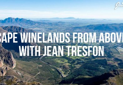 Cape winelands from above with Jean Tresfon