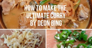 Curry Making with Deon Bing