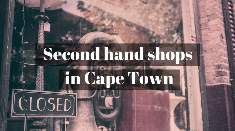 Second hand stores in Cape Town