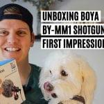 Unboxing Boya MM1 Microphone