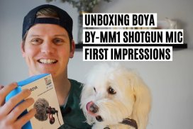 Unboxing Boya MM1 Microphone